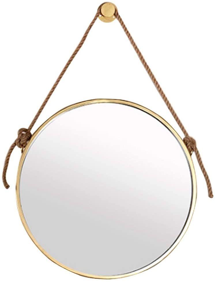 Rope Mirror Hanging Wall, Rope Hanging Vanity Mirror