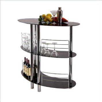 Amazon.com: Winsome Martini Entertainment Bar: Home & Kitchen