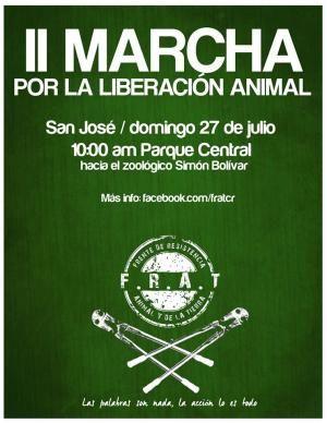 Segunda Marcha por la Liberación Animalhttp://www.desktopcostarica.com/eventos/2014/segunda-marcha-por-la-liberacion-animal