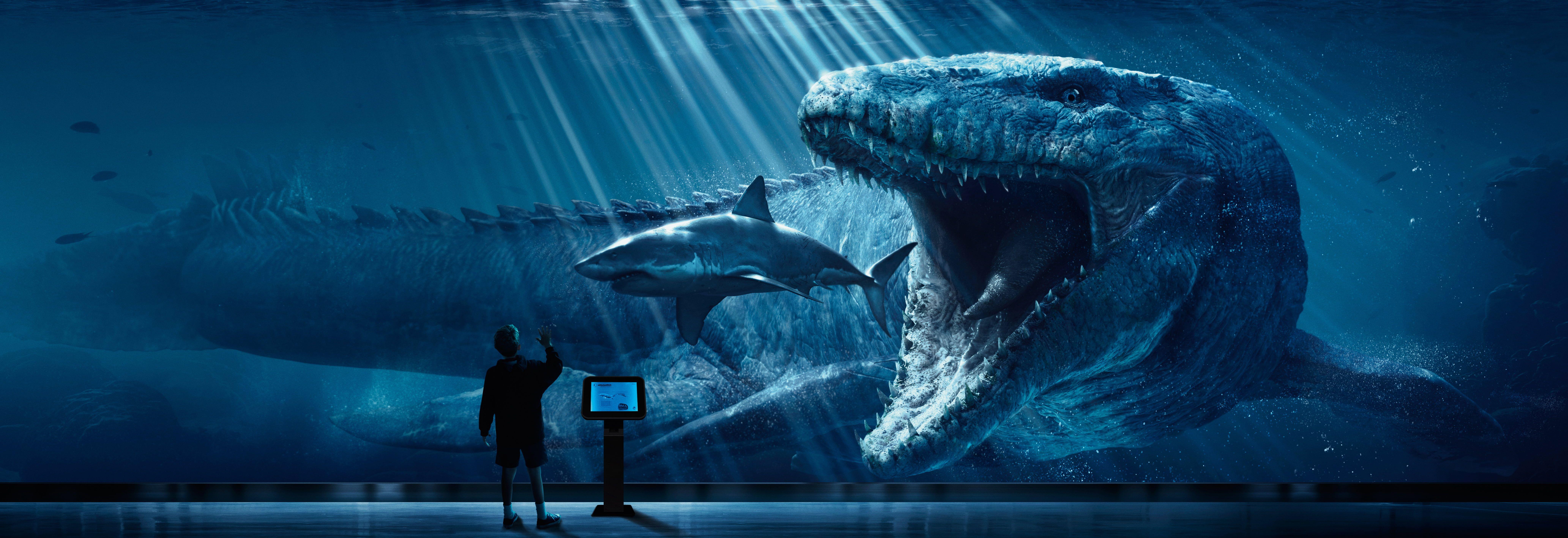 Megalodon Wallpaper Digital Art Jurassic World Shark Dinosaurs Jurassic Park Prehistoric 8k Wallp Jurassic World Poster Jurassic World Jurassic World 2015