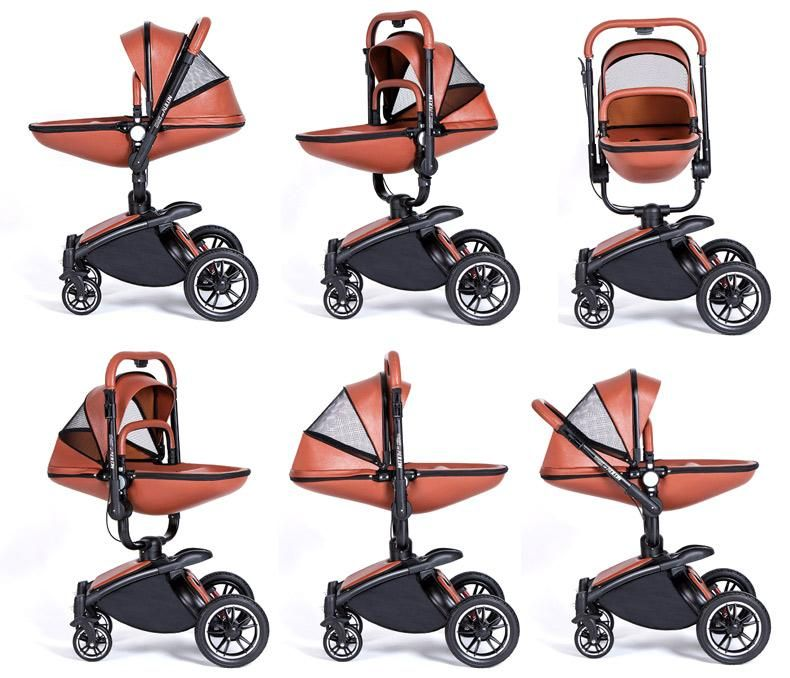 New 2 in 1 360 Degree Luxury Baby Stroller Baby
