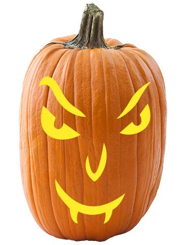 22 Face Stencils That Ll Transform Your Pumpkin Into The