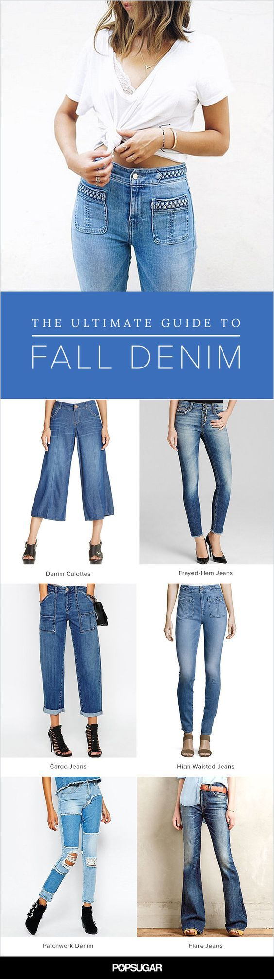 The 7 denim trends you need to follow.
