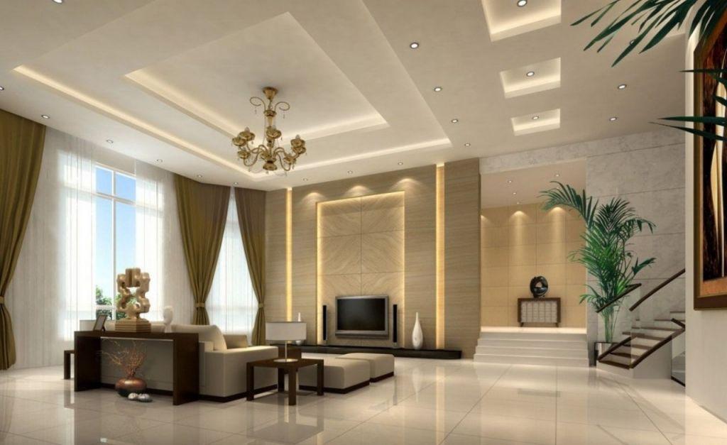 Innovative Living Room False Ceiling Ideas Minimalist Ceiling For