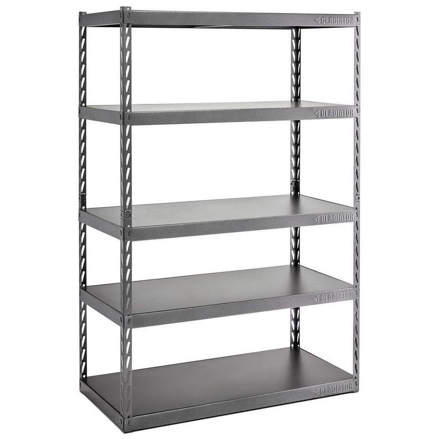 Gladiator Gladiator Ez Connect Rack With Five 24 In Deep Shelves