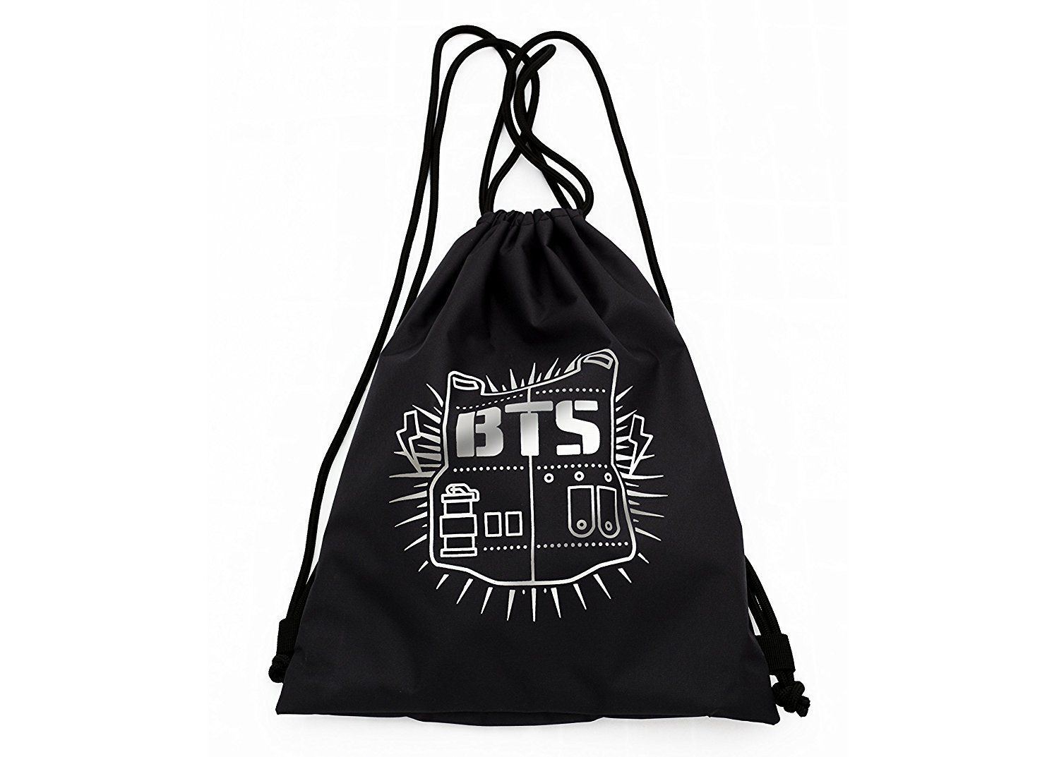 Kpop Bts Bangtan Boys Drawstring Backpack Sackpack Sack Bag School Bag 182