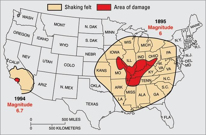 Top Five Major Fault Lines in the US on YayBoo poles shift Pinterest