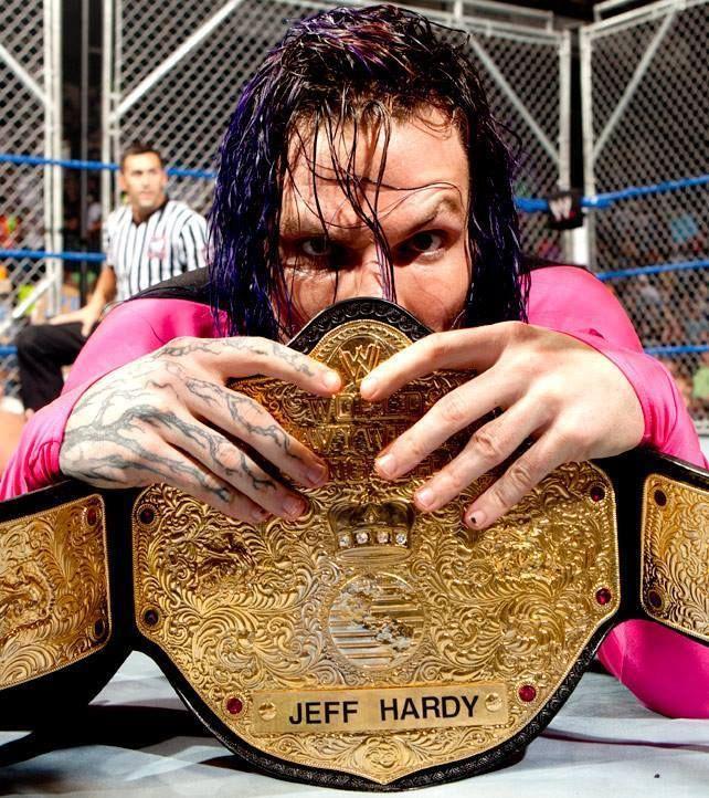World Heavyweight Champion Jeff Hardy