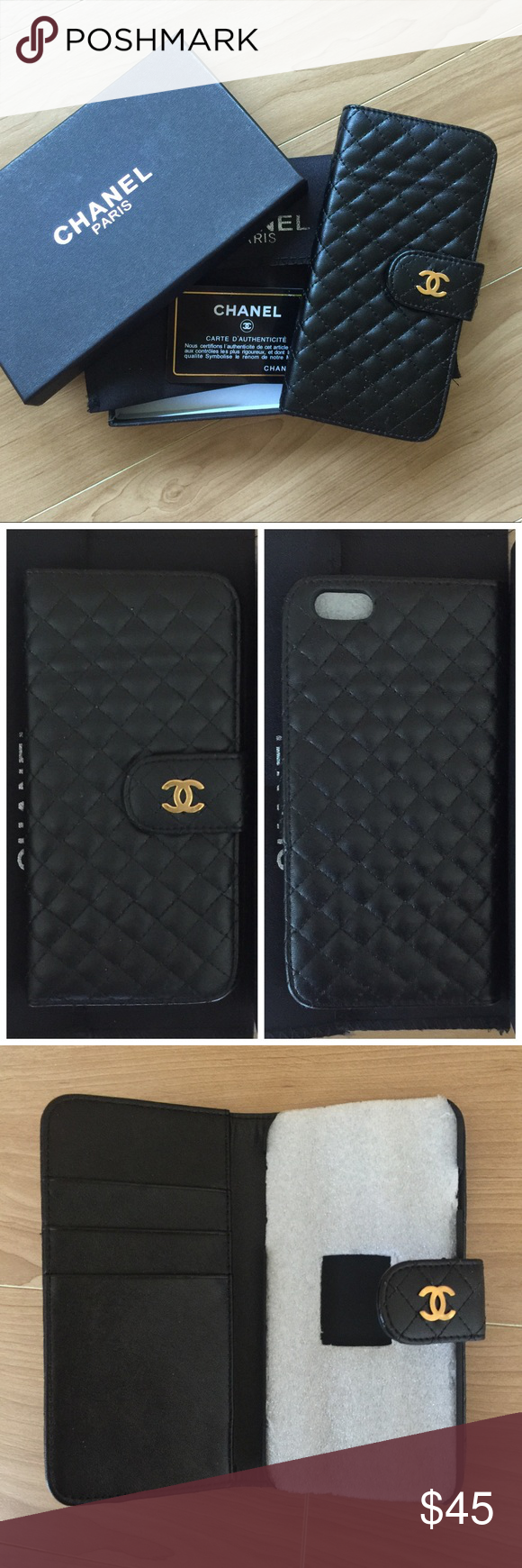 🆕⬇️iPhone 6 Plus/6s Plus Case High quality lambskin leather case with magnetic closure. New in box includes dust bag and card. Limited quantities available. Fits iPhone 6 Plus and iPhone 6s Plus. Accessories Phone Cases
