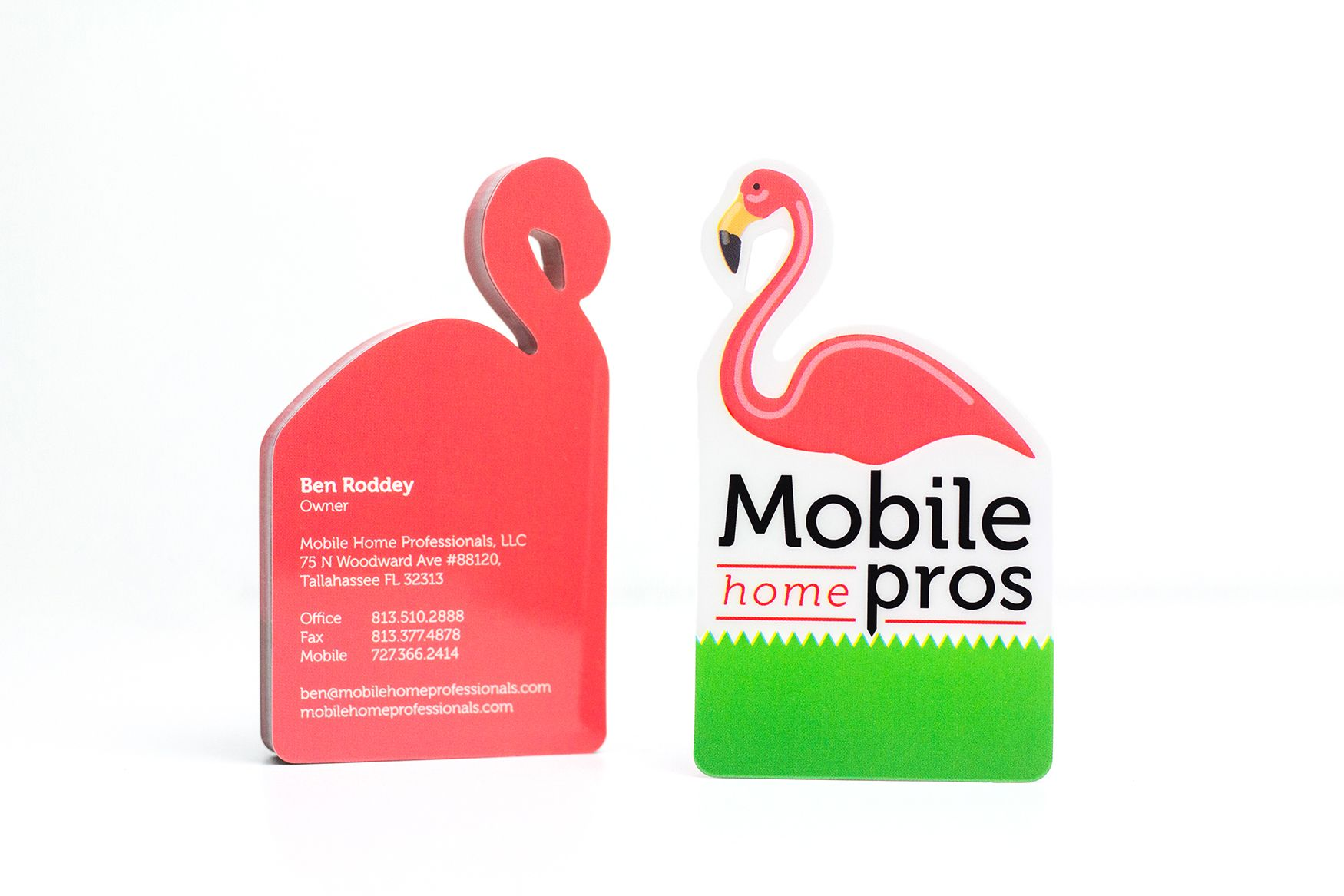 Flamingo Shaped Business Cards | Business Cards | Pinterest ...