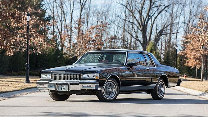 1987 Chevrolet Caprice Classic 167 Miles Mecum Auctions Chevrolet Caprice Caprice Classic Chevrolet