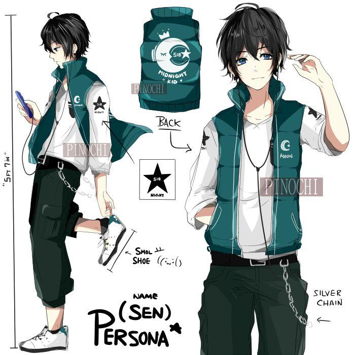 OC: Persona Ref (SEN) by Pinochi on DeviantArt