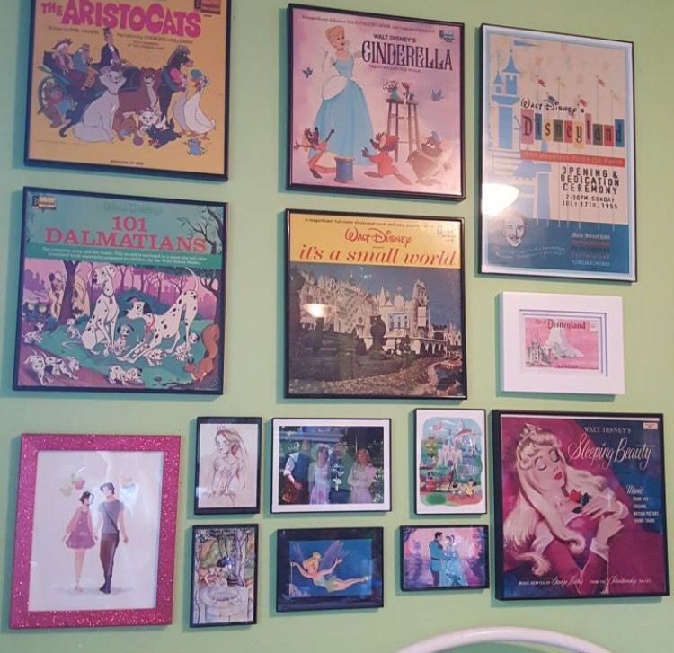 Yes For My Disney Gallery Wall I Need More Disney Records Tho