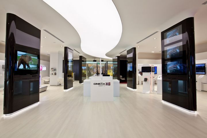 Storeage creates lg retail experience store in singapore for Design agency amsterdam