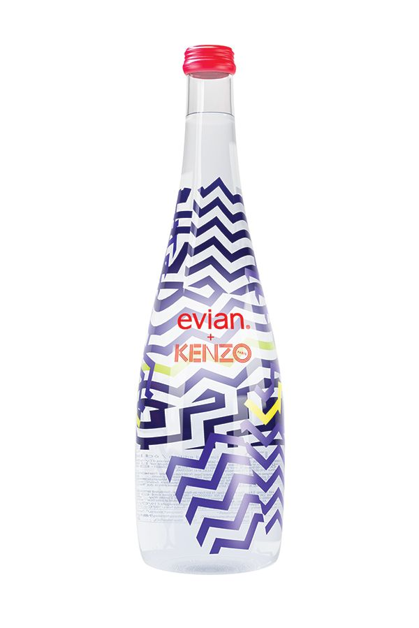 Evian x Kenzo limited edition