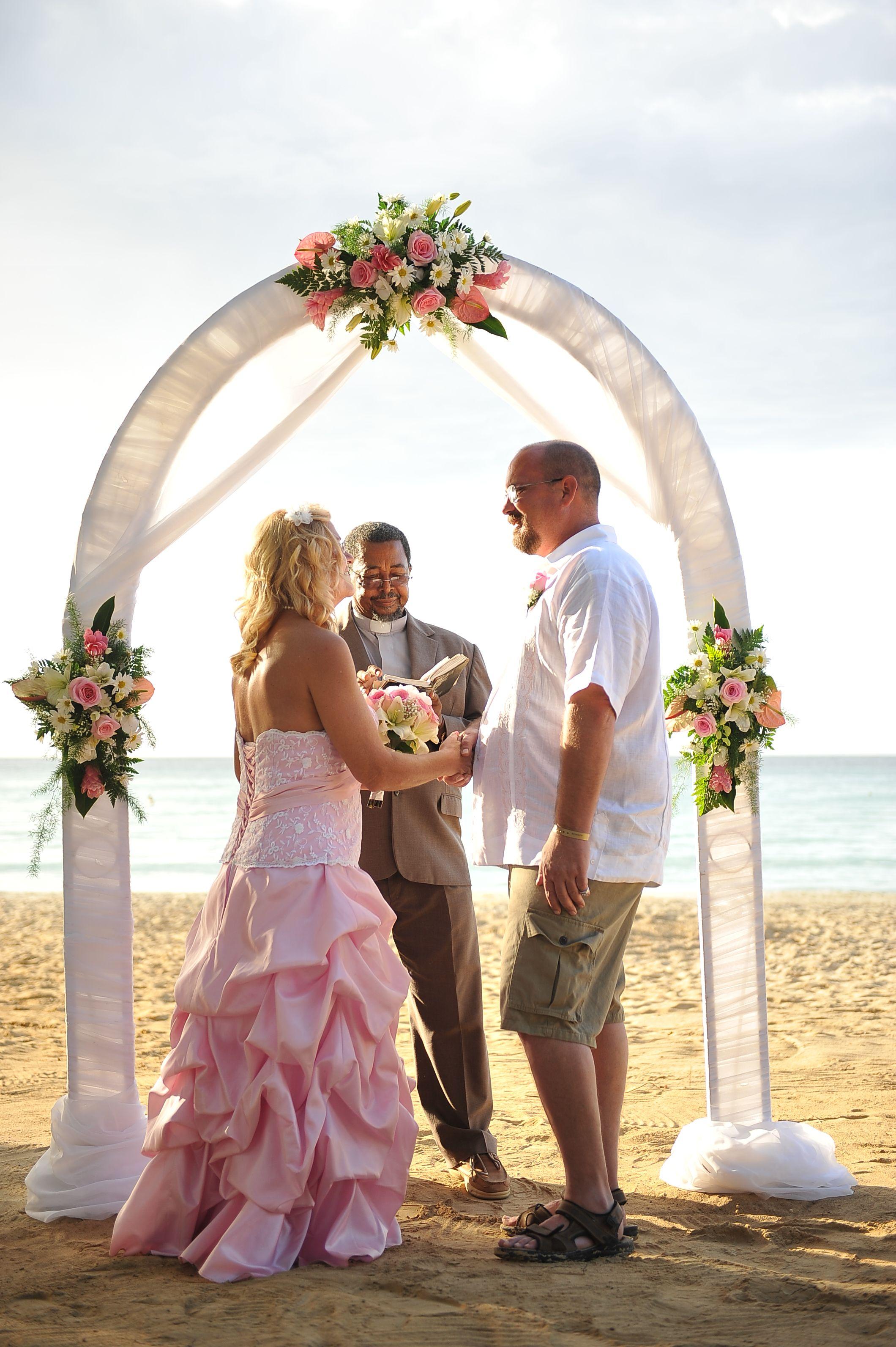 The Jeffries' destination wedding at Riu Palace Tropical