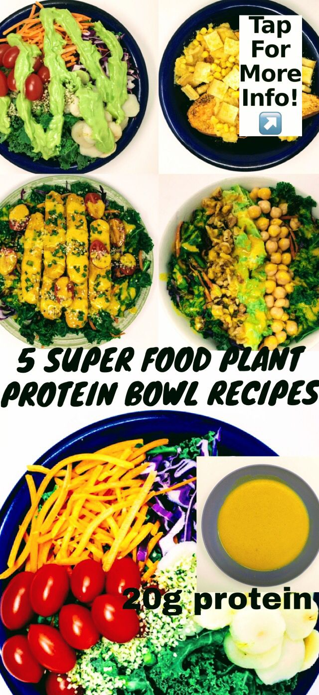 5 super food plant protein recipes images