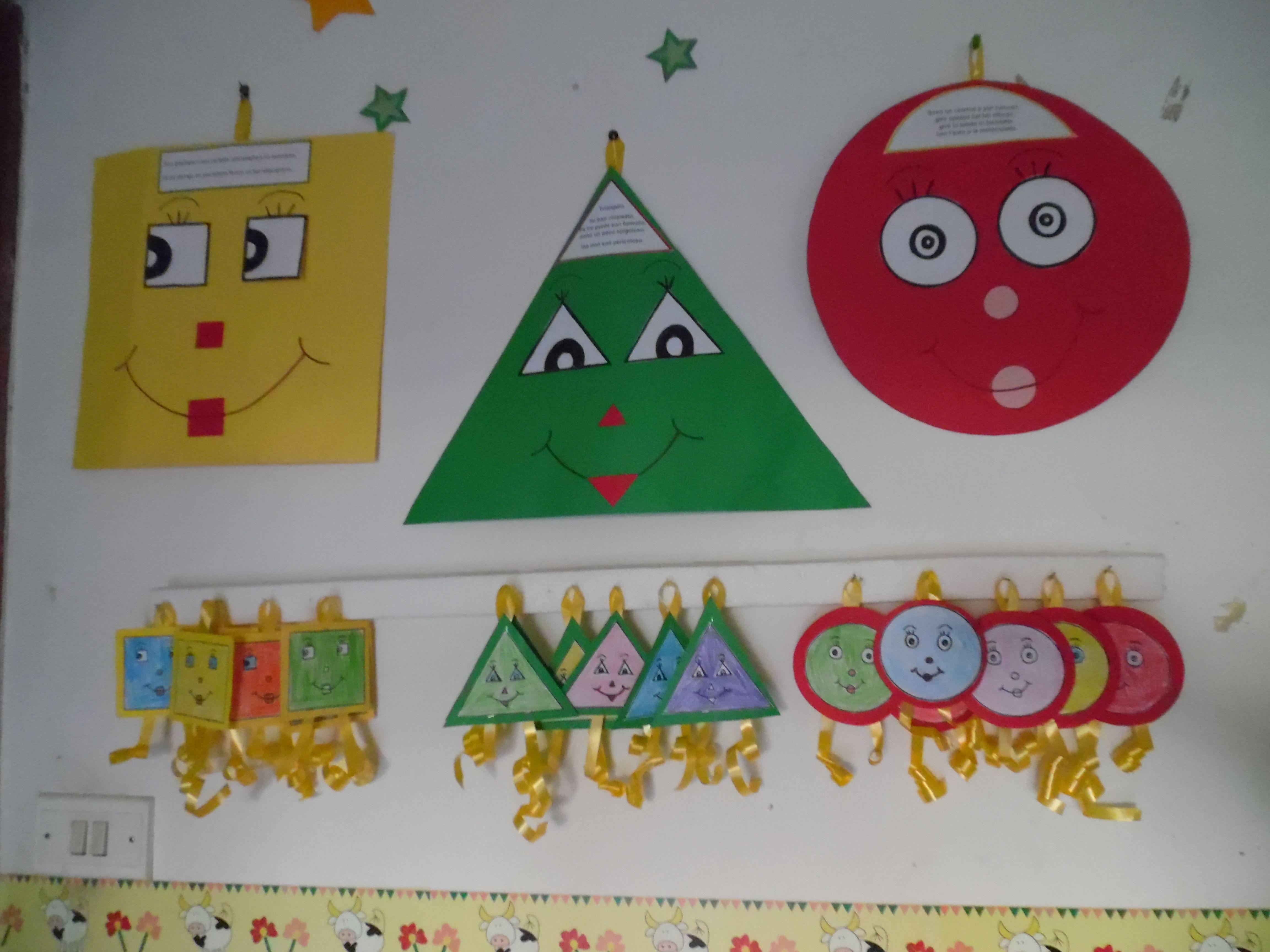 Geometria Bambini ~ La famiglia delle forme maestrarenata insegnare giocando