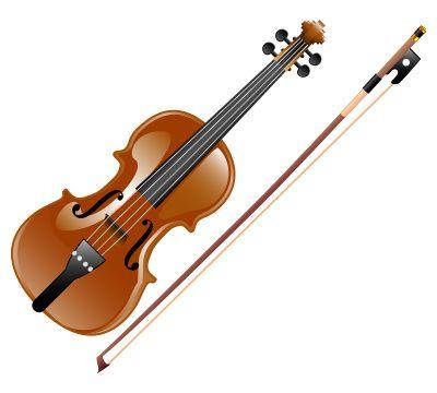 violin clipart - buscar con google | vocales y dífonos | pinterest