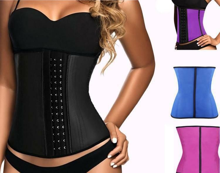 f889ddffd6 Latex Corset - Waist Trainer Corset  fashion  clothing  shoes  accessories   womensclothing  intimatessleep (ebay link)