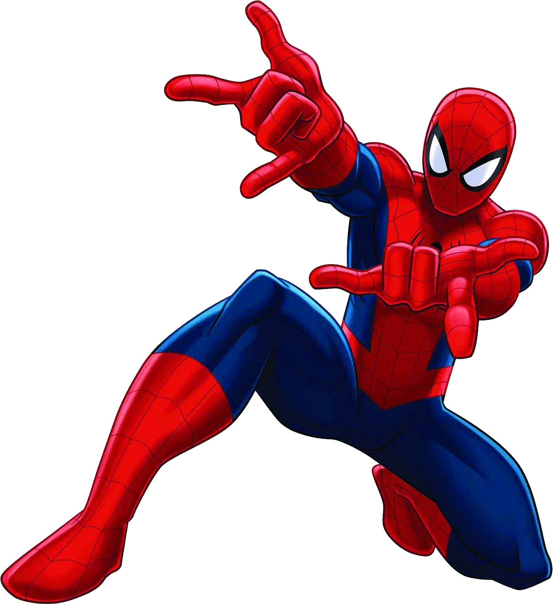 Spiderman Comic Transparent Background 1108x1210