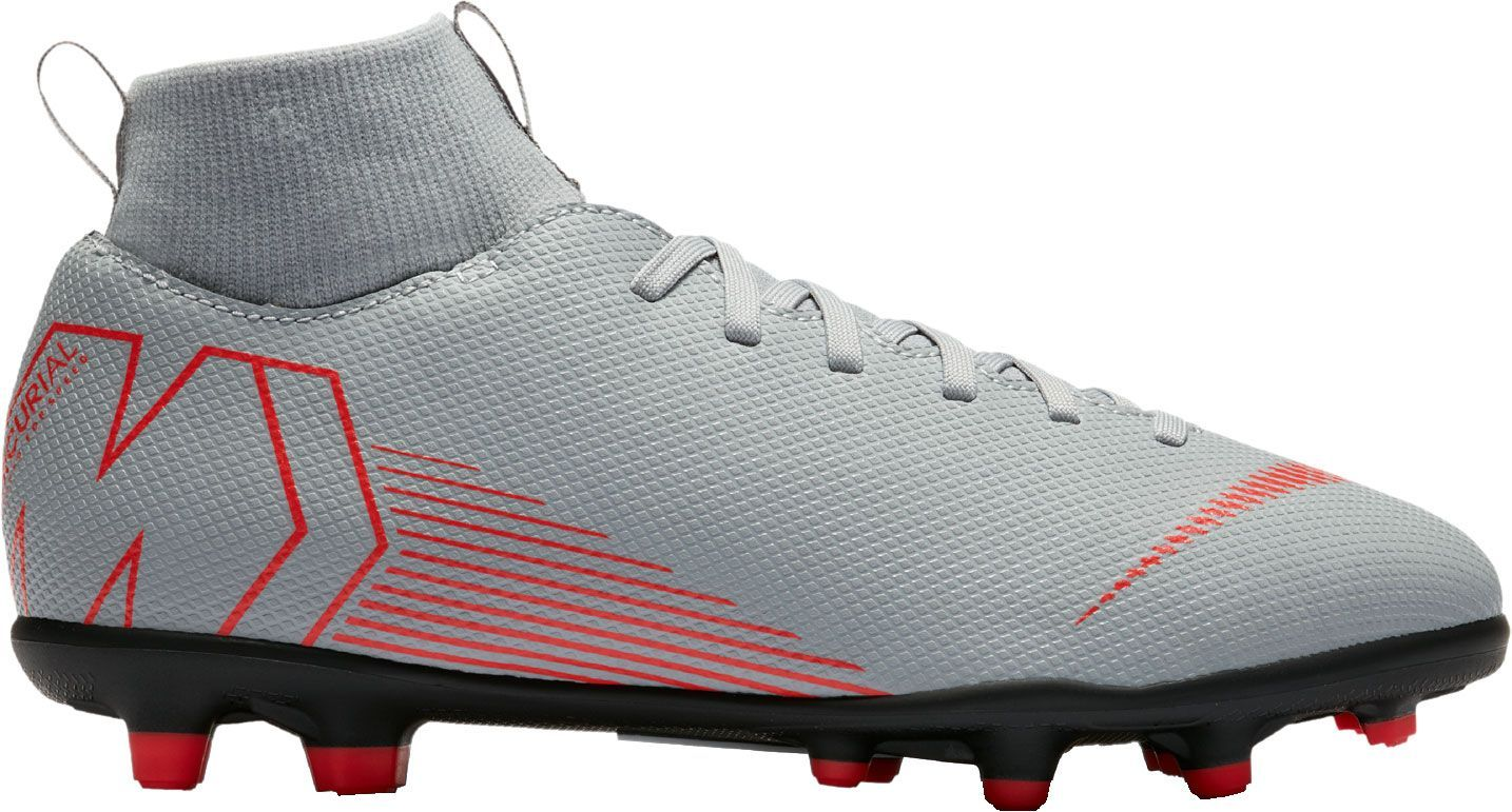 brand new 4afe3 37051 Nike Kids' Mercurial Superfly 6 Club FG/MG Soccer Cleats ...