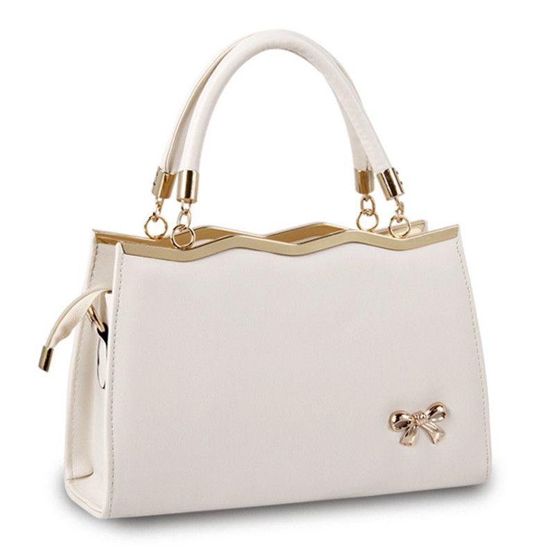Women Bags Casual Tote Women PU Leather Handbags Fashion Women ...