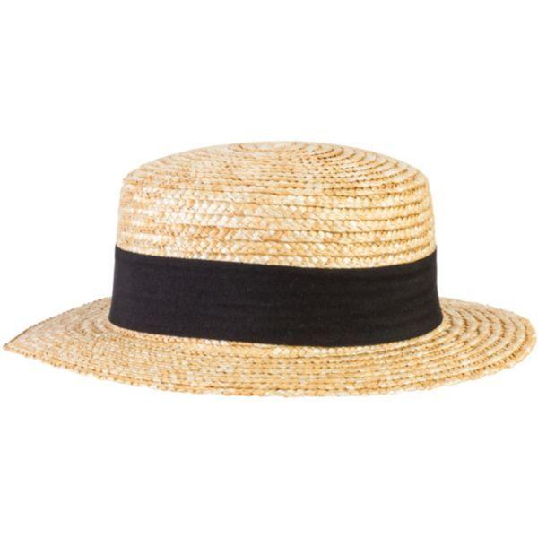 15b81e422cf6a Sombrero de Paja Canotier by Lipodo