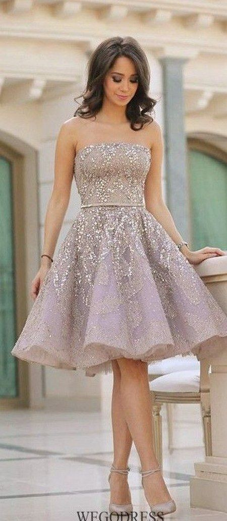 50 Incredibly Y Prom Dresses For S To Steal Hearts Strapless Short Wedding