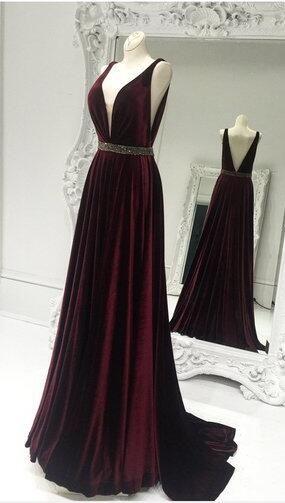 Dark Red Formal Dresses