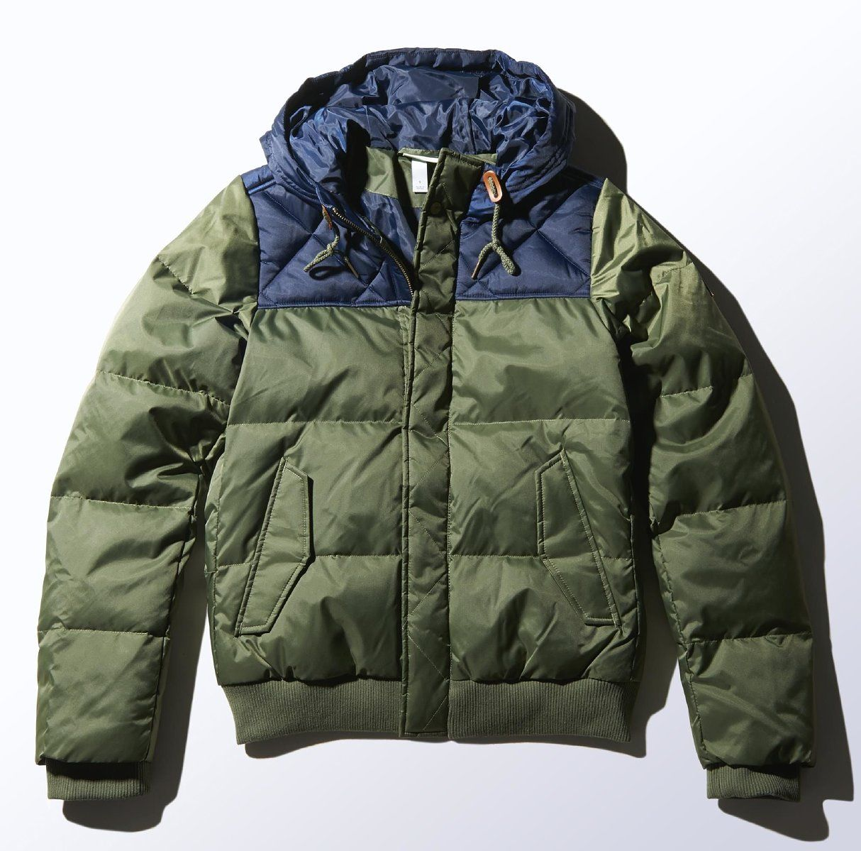 adidas neo padded down utility jacket