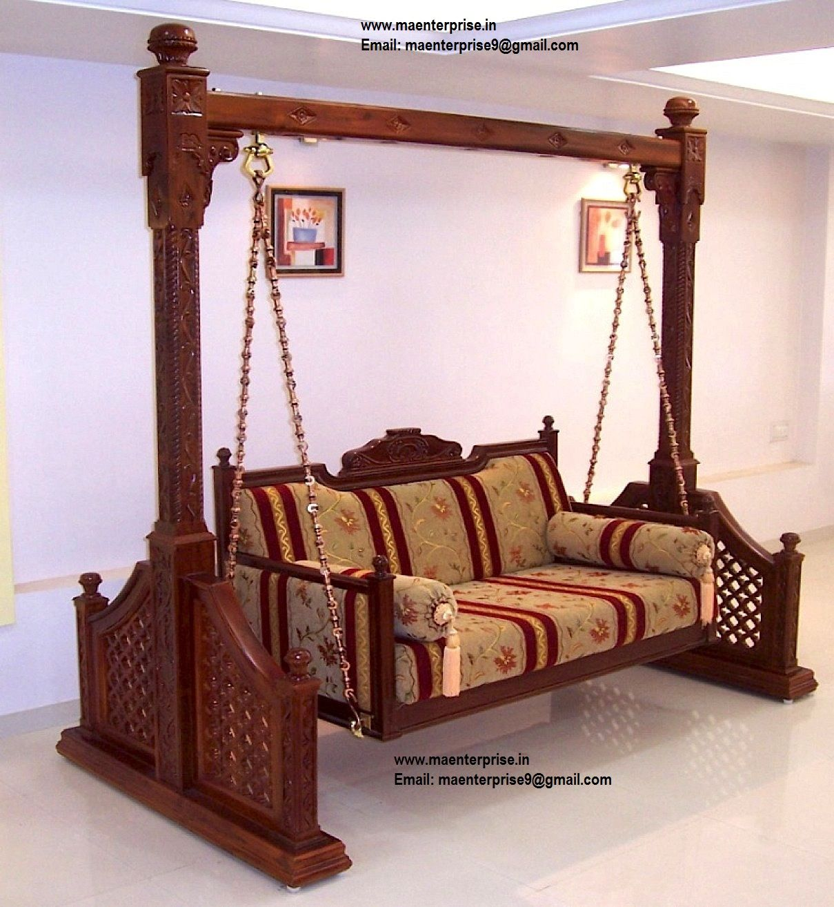 Indian Home Decor Jhoola Swing Jula Pinterest Wooden