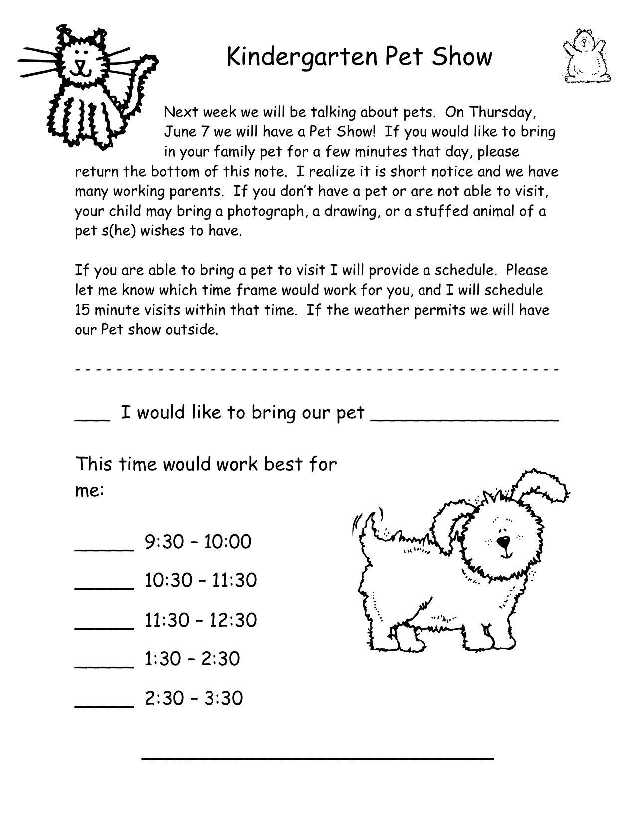Pet Show Invitation