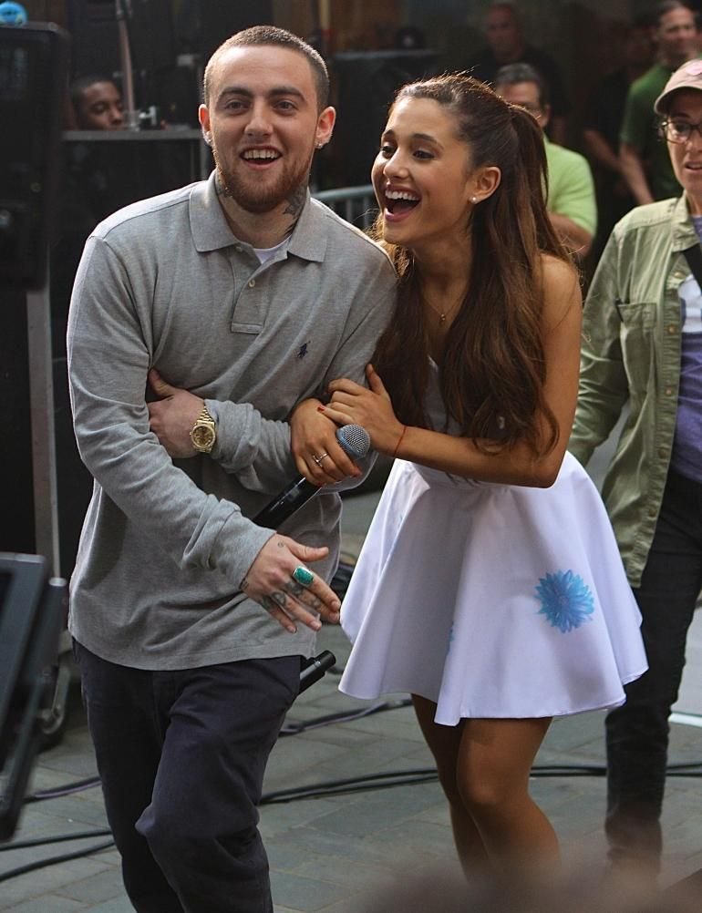 Was mac miller and ariana grande dating