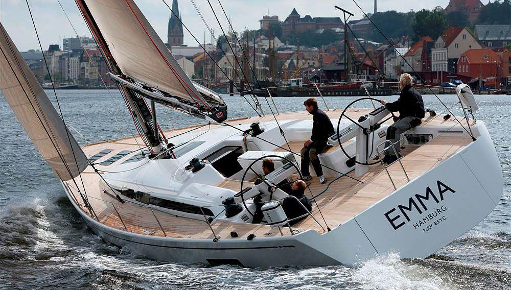S/Y Emma - Nautor's Swan 60 with carbon fiber rig, deck & mast