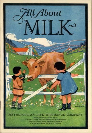 Milk, although actually life insurance | Farm fresh milk ...