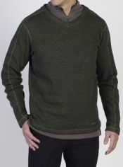 The Ruvido Sweater blends the benefits of wool with a modern look. Classic ...