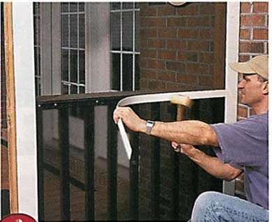 Do it yourself screened porch todays homeowner windows and doors do it yourself screened porch todays homeowner windows and doors weekend project screen it yourself porch in the news screen tight solutioingenieria Images