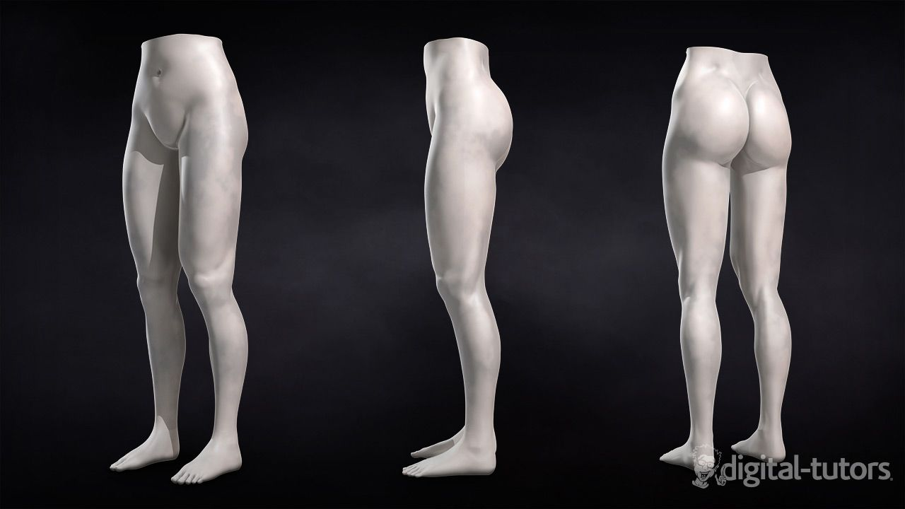 Learn how to Sculpt Female Legs in ZBrush in a tutorial to help you ...