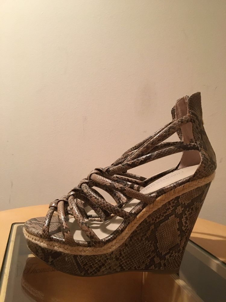 60e78f6b932 christian siriano For Payless Size 8.5 Open Toe Wedge Sandal New  fashion   clothing
