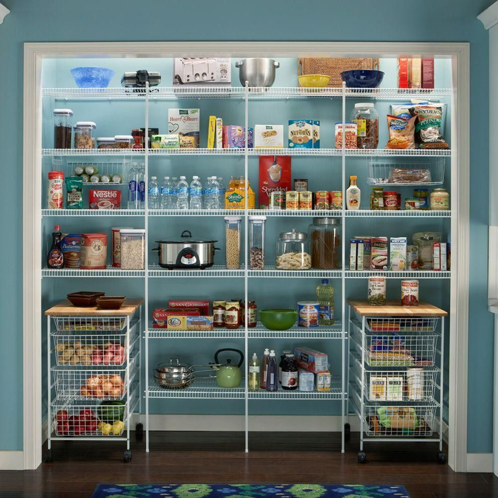 ClosetMaid Close Mesh 72 In. W X 20 In. D Ventilated Pantry Shelf 1396    The Home Depot