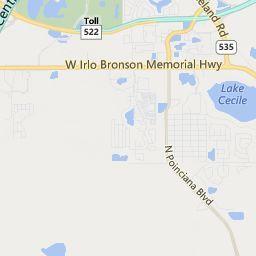 Kissimmee Florida Map.Kissimmee Fl Map Transportation Gaylord Palms Resort Florida