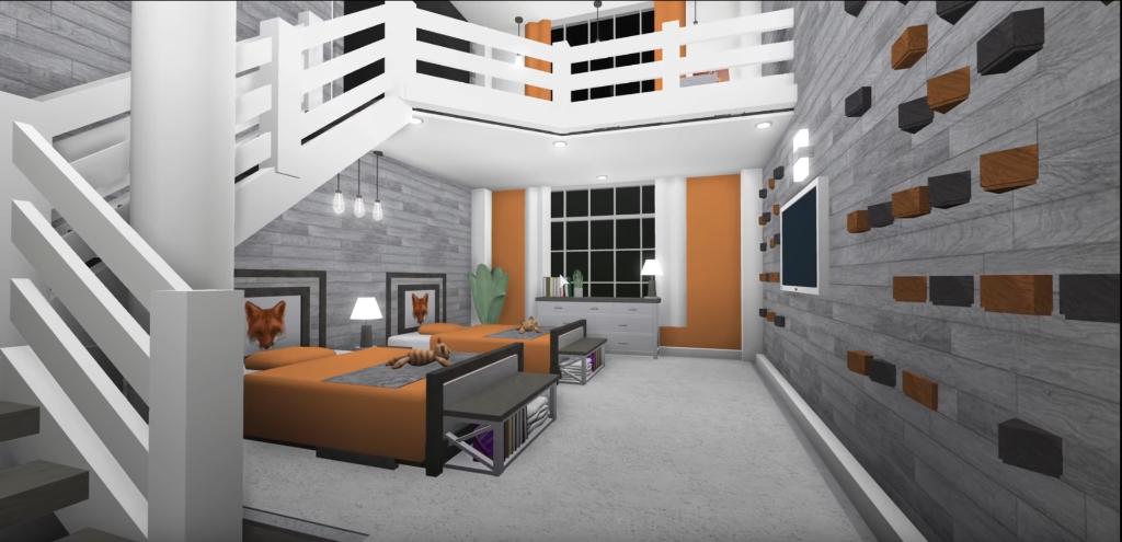 Aesthetic Twin Bedroom Bloxburg - 2021