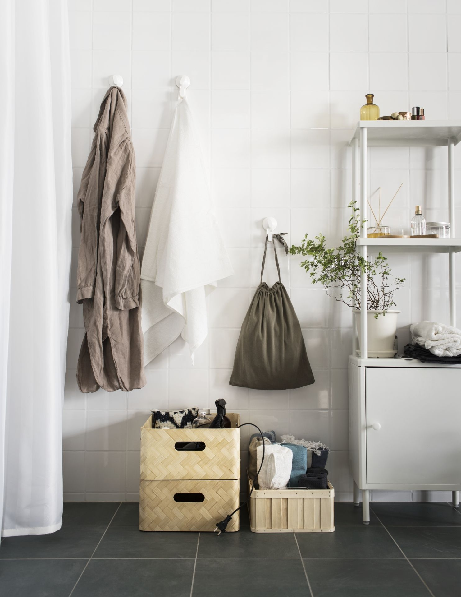 Cool KEA Deutschland Alles im Bad gut verstaut mit DYNAN dem neuen Regal von IKEA