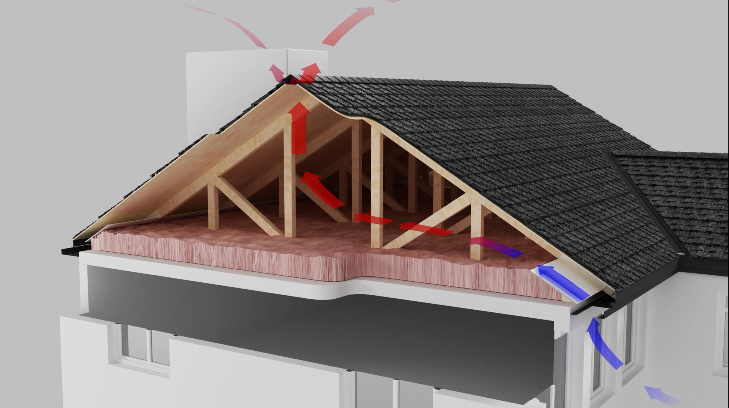 The Importance Of Good Ventilation Ventilation System Ventilation Shingling