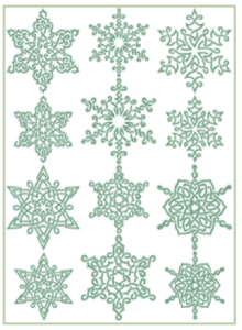 Free Embroidery Designs: Celtic Snowflakes - I Sew Free   Free