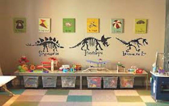 I like the skeletons   Boys room space or dinosaurs   Pinterest ...