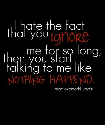 Ignoring Problems Will Not Make Them Go Away Stupid Boy Quotes True Quotes Amazing Quotes