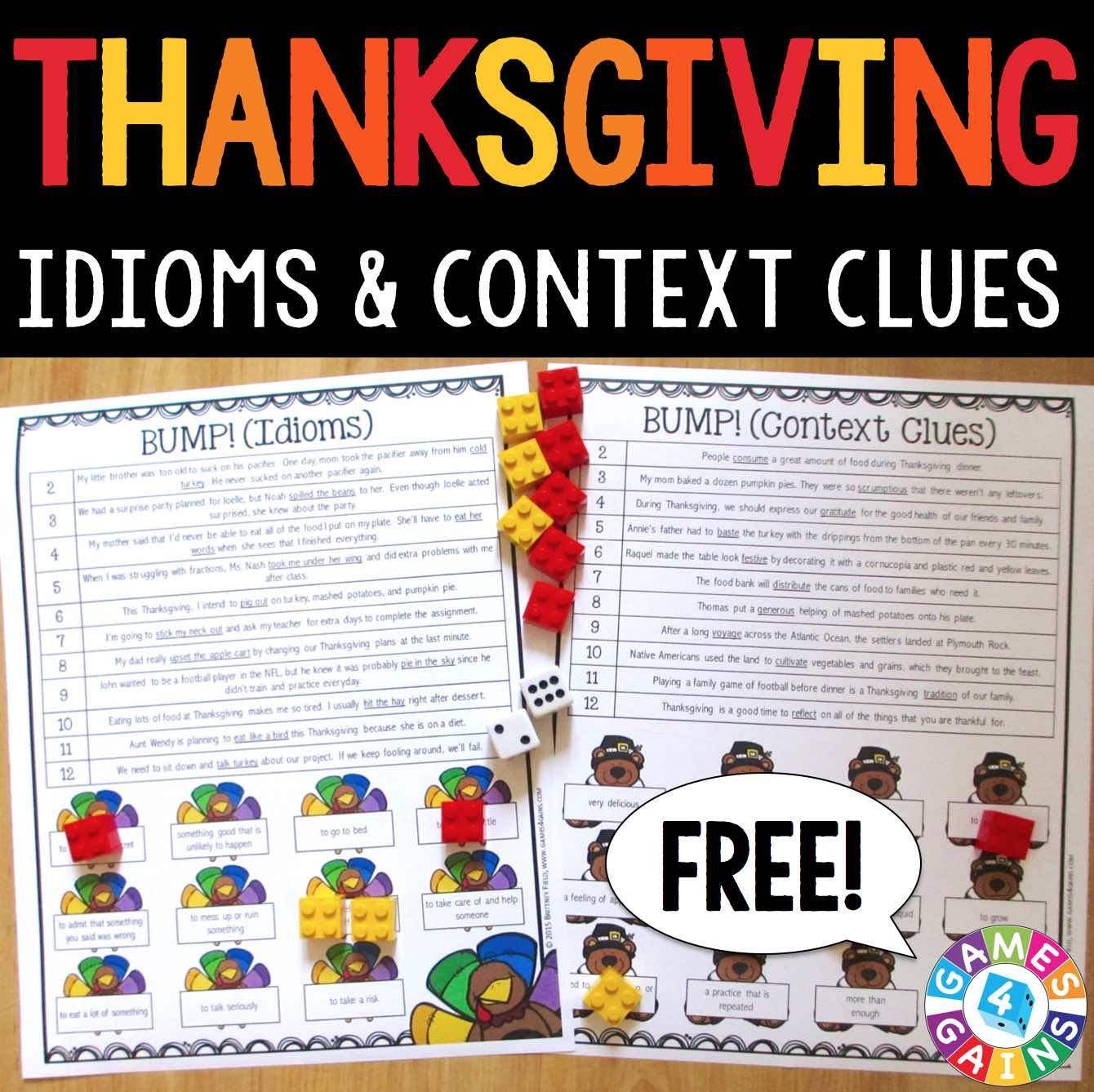 Bump Up The Fun With These Free Thanksgiving Games