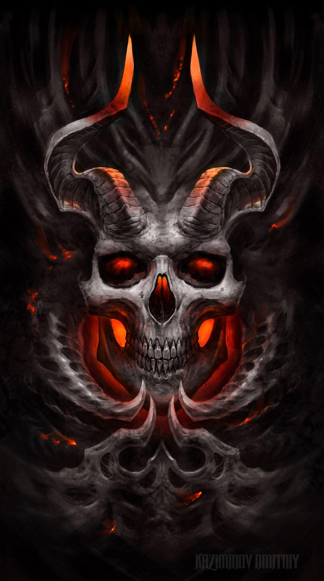 Demon Kazimirov Dmitriy Artstation. Satanic